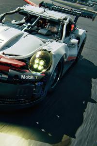 1440x2960 Porsche 911 RSR Lego 4k