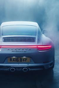 Porsche 911 Snow Test