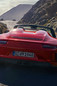 480x854 Porsche 911 Speedster 2019