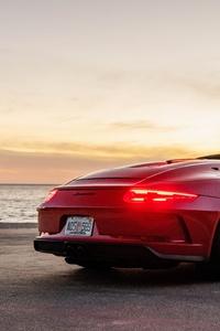 240x400 Porsche 911 Speedster 2020 8k