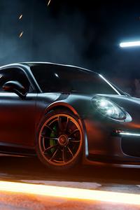 640x1136 Porsche 911 Sport Car