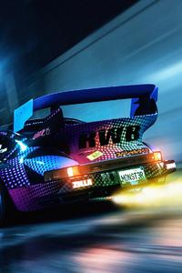 320x568 Porsche 911 Street Ride 4k