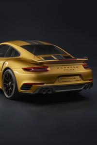 720x1280 Porsche 911 Turbo S 2017