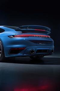 1440x2560 Porsche 911 Turbo S 2021 5k