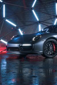 640x960 Porsche 911 Turbo S CGI