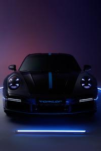 320x480 Porsche 911 Turbo S Stinger 8k