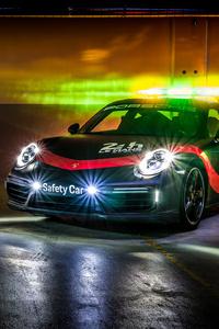 Porsche 911 Turbo WEC Safety Car 2018