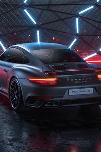 Porsche 911 TurboS CGI