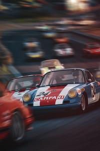320x480 Porsche 912 R Cup On Spa Assetto Corsa 4k