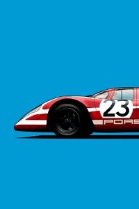 1080x1920 Porsche 917k Vector Art