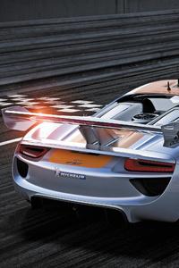 320x568 Porsche 918 RSR Concept