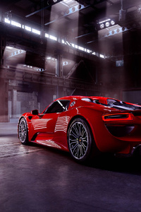 480x800 Porsche 918 Spyder 2018