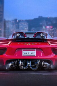 320x480 Porsche 918 Spyder HD