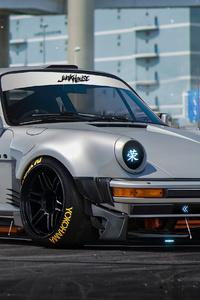 320x480 Porsche 930 Artwork 4k