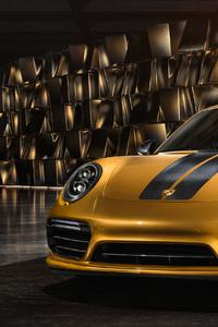 320x568 Porsche 991 II Turbo R 4k