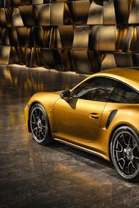 320x568 Porsche 991 II Turbo Rear