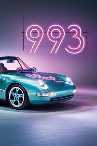 360x640 Porsche 993 4k