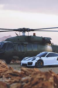 640x960 Porsche And Jets