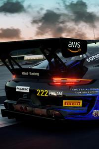 1242x2688 Porsche Assetto Corsa Competizione 5k
