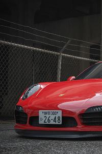 1080x1920 Porsche Car 4k 2020