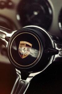 Porsche Car Steering