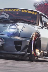 Porsche Car Track
