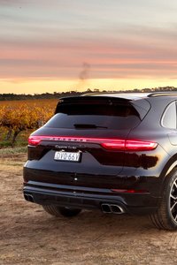 Porsche Cayenne Turbo 2018 Rear