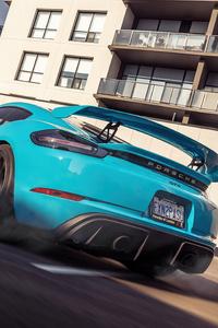 1080x2280 Porsche Cayman Gt4 2021 5k