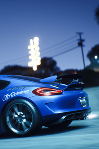 1080x2160 Porsche Cayman Gt4 Need For Speed Payback