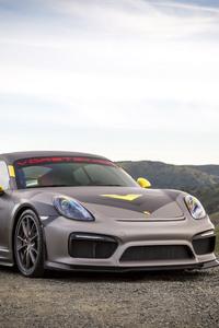 1080x2160 Porsche Cayman GT4 Vorsteiner