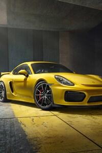 1280x2120 Porsche Cayman GT4