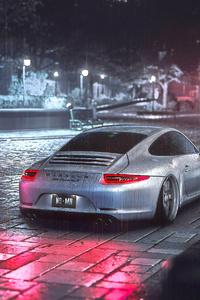 1080x2160 Porsche Cayman S 2019 4k