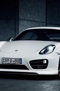 1242x2688 Porsche Cayman