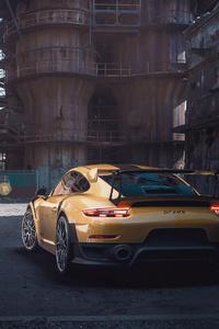 1440x2560 Porsche Gt Rear