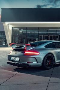 Porsche Gt3 4k Rear
