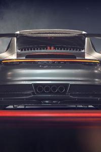 Porsche GT3 911 GT 4k Rear