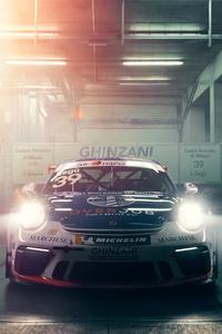 480x800 Porsche Gt3 Cup 4k