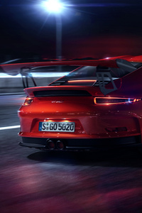 PORSCHE GT3 RS CGI Rear
