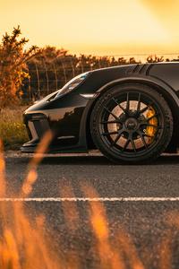 480x854 Porsche GT3RS Weissach 4k
