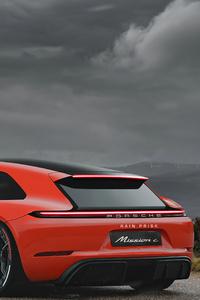 320x480 Porsche Mission C 4k