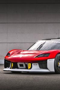 320x480 Porsche Mission R 8k 2021