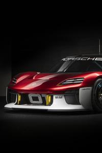 320x480 Porsche Mission R Concept Car 8k