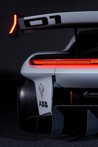 320x480 Porsche Mission R Rear 5k