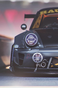 320x568 Porsche Modified 4k