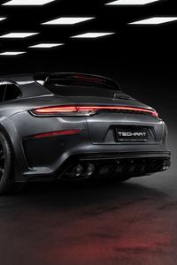480x800 Porsche Panamera Techart 2021 5k