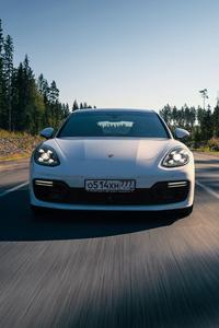 Porsche Panamera Turbo S E Hybrid Sport Turismo Front