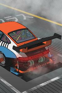 Porsche Raceline 4k