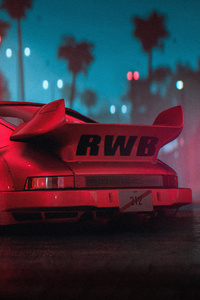 720x1280 Porsche Rwb 911 4k