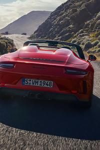 640x960 Porsche Speedster 5k