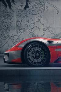 Porsche Spyder 918 Art